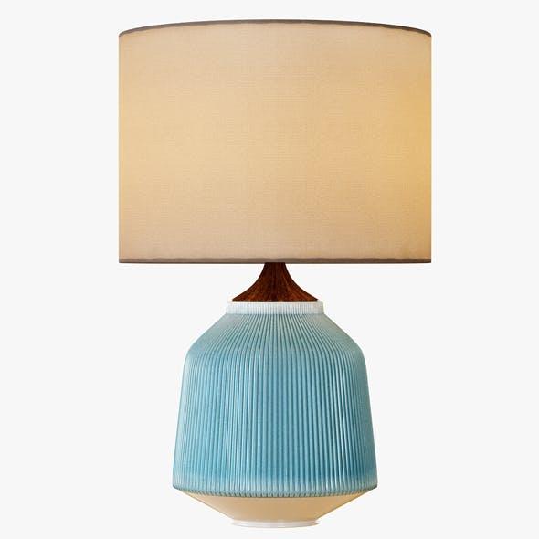 Roar + Rabbit Ripple Ceramic Table Lamp