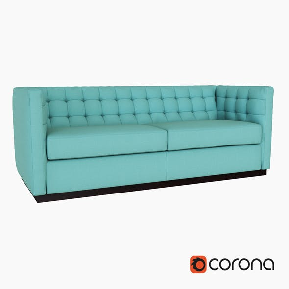 Rochester Sofa - 3DOcean Item for Sale