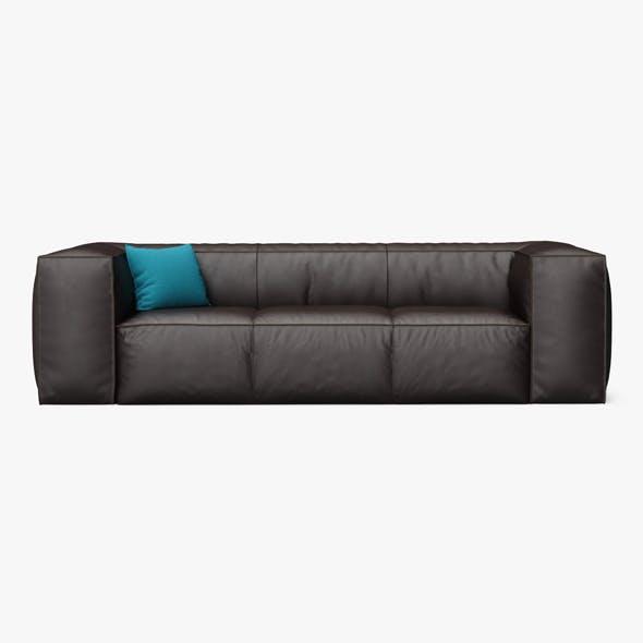 Scruffy Sofa - 3DOcean Item for Sale