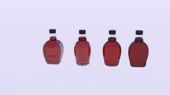 Maple Syrup Pack - 3DOcean Item for Sale