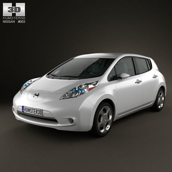 Nissan LEAF 2011 - 3DOcean Item for Sale