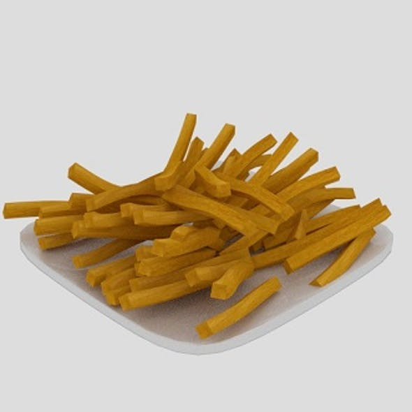 French Fries Plate