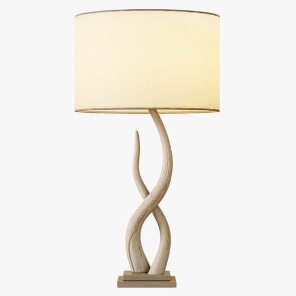 Source Kudu Table Lamp - 3DOcean Item for Sale