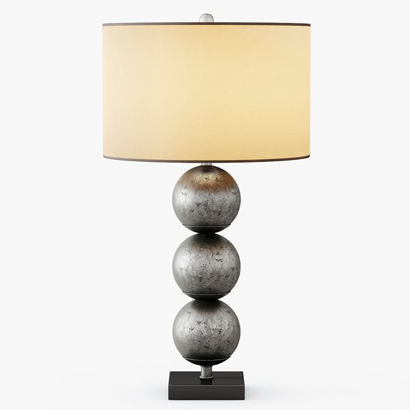 Three Orb Table Lamp - 3DOcean Item for Sale