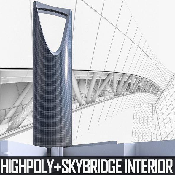 Kingdom Centre Tower - 3DOcean Item for Sale