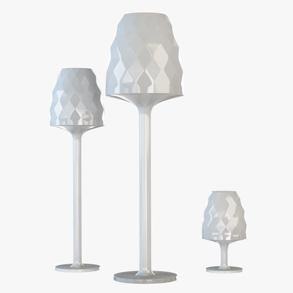 Vondom Standing Lamp - 3DOcean Item for Sale