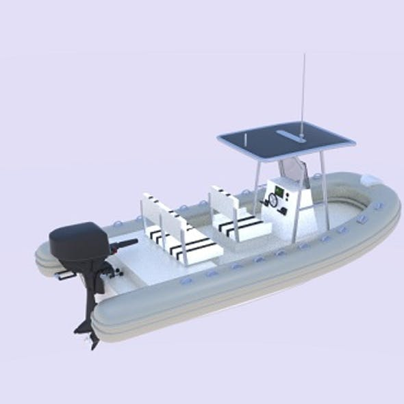 Twin Engine Inflatable Boat