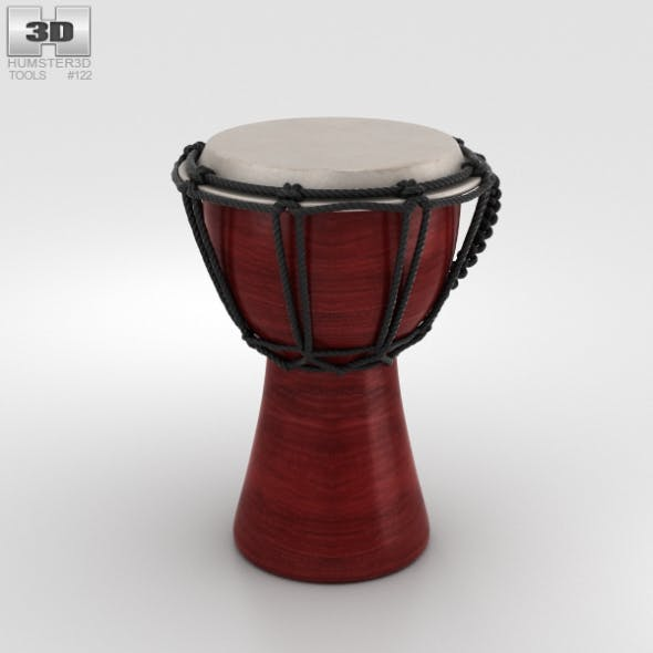 Djembe - 3DOcean Item for Sale