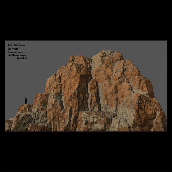 Mountain - 3DOcean Item for Sale