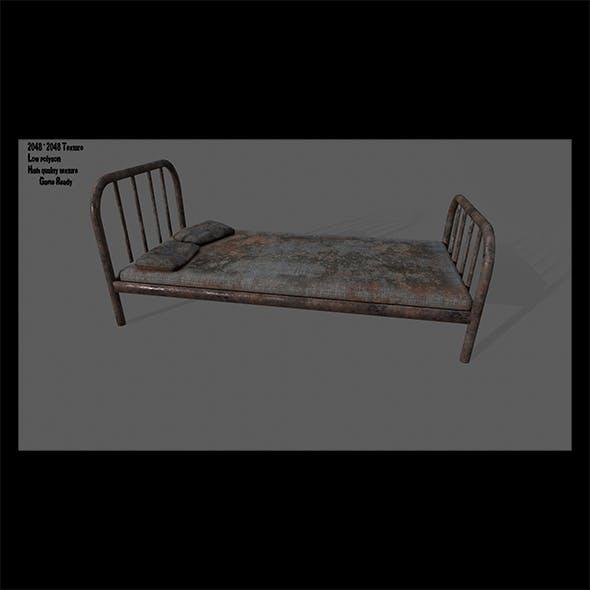 Old_Bed - 3DOcean Item for Sale