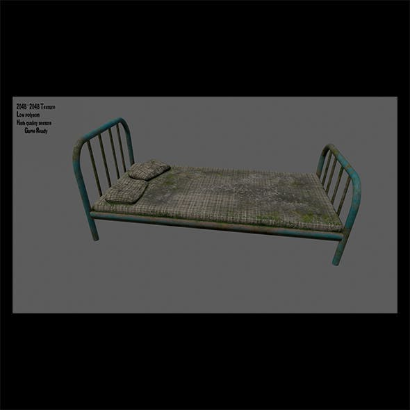 Old_Bed - 3DOcean Item for Sale