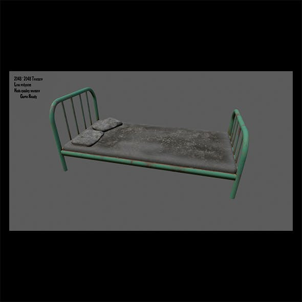 Old_Bed. - 3DOcean Item for Sale