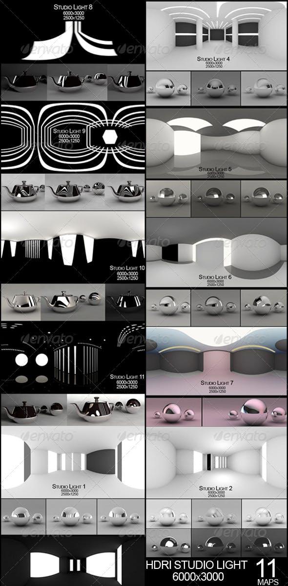 Hdri studio pack  - 3DOcean Item for Sale