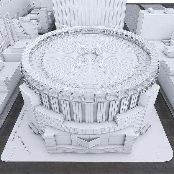 Madison Square Garden - 3DOcean Item for Sale