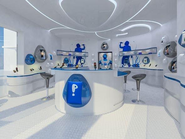 Mobile Phone Shop Interior 02 - 3DOcean Item for Sale