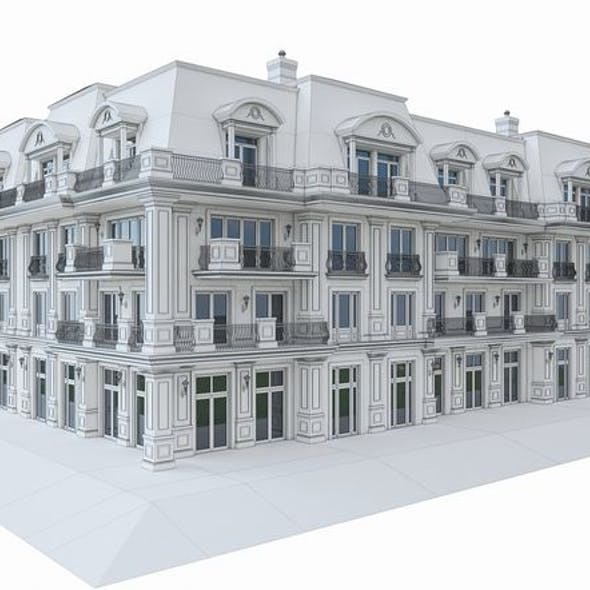 Luxury Hotel Building 02