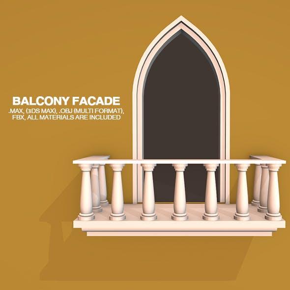 Balcony Facade