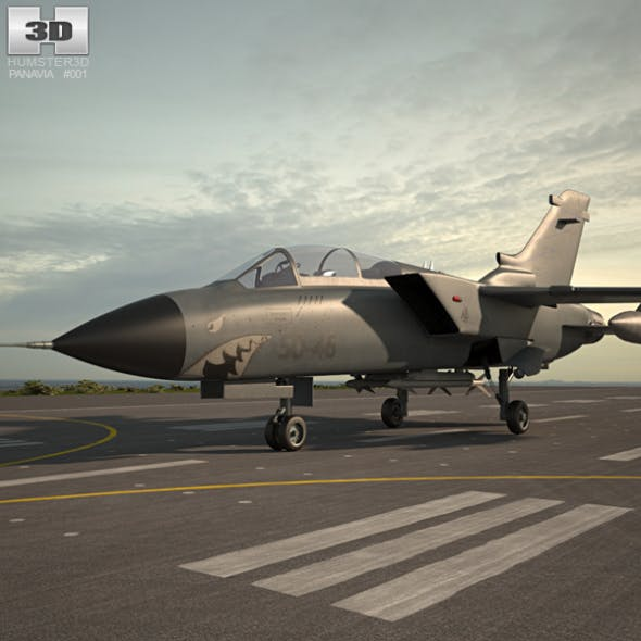 Panavia Tornado - 3DOcean Item for Sale