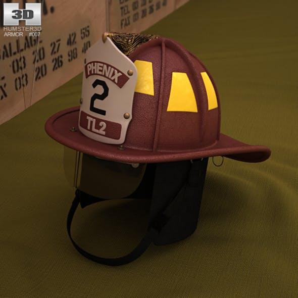 Firefighting Helmet - 3DOcean Item for Sale