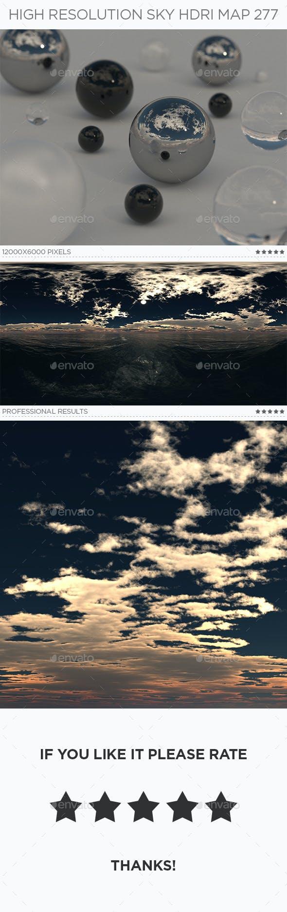 High Resolution Sky HDRi Map 277 - 3DOcean Item for Sale