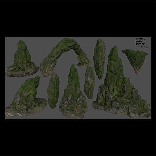 forest rocks set - 3DOcean Item for Sale