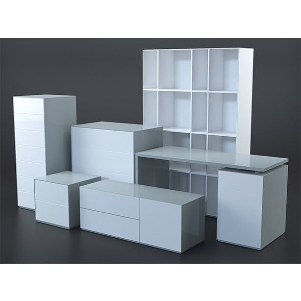 Stretto furniture collection - 3DOcean Item for Sale