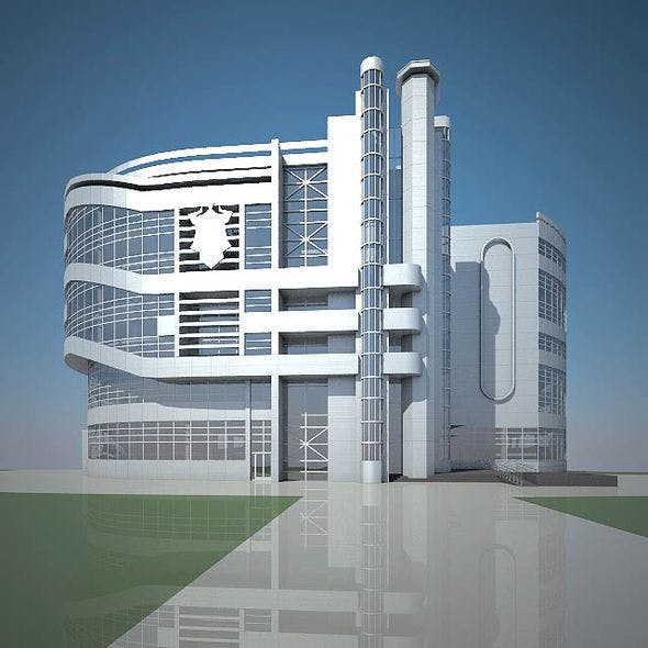 Office Building 02 - 3DOcean Item for Sale