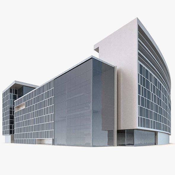 Office Building 03 - 3DOcean Item for Sale