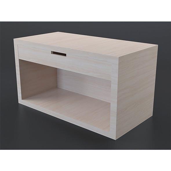 Light oak coffee table 1 - 3DOcean Item for Sale