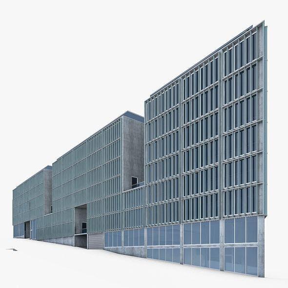 Office Building 04 - 3DOcean Item for Sale