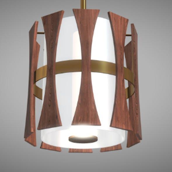 Wood Pendant Lamp