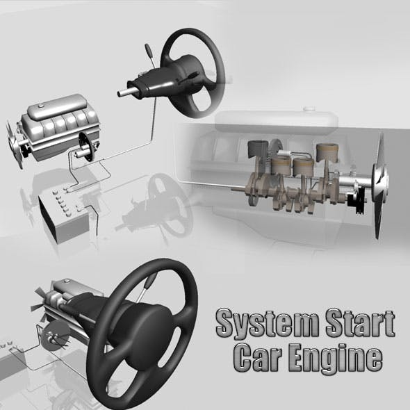 System Start Car Engine