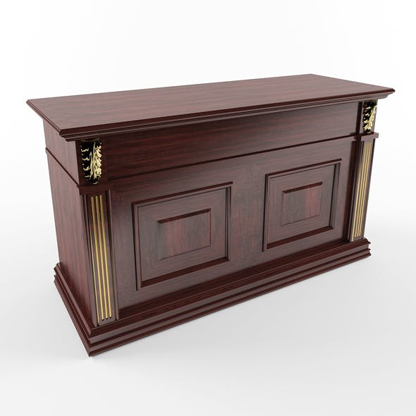 Chest of drawers for hallway - 3DOcean Item for Sale