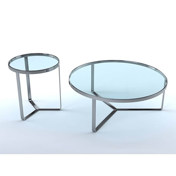 Aula coffee tables (set of 4) - 3DOcean Item for Sale