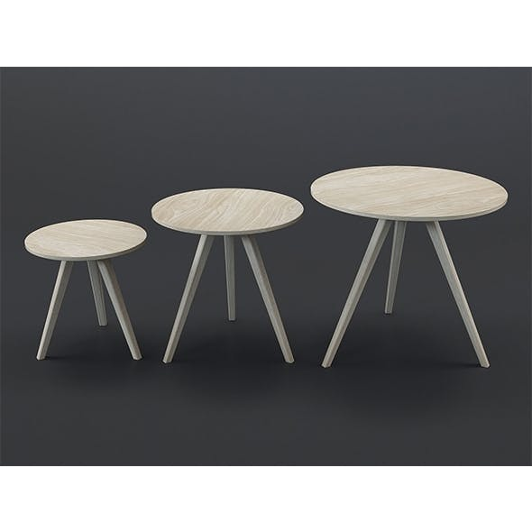 Orion coffee tables (set of 3) - 3DOcean Item for Sale