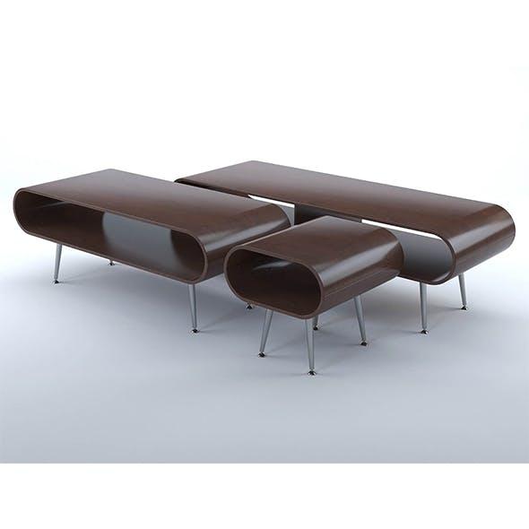 Hooper coffee tables - 3DOcean Item for Sale
