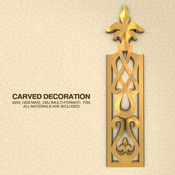 Carved Decoration