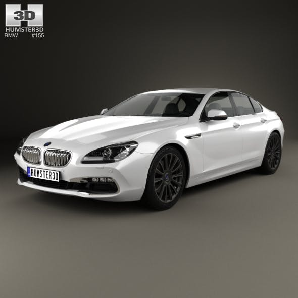 BMW 6 Series Gran Coupe (F06) 2015 - 3DOcean Item for Sale
