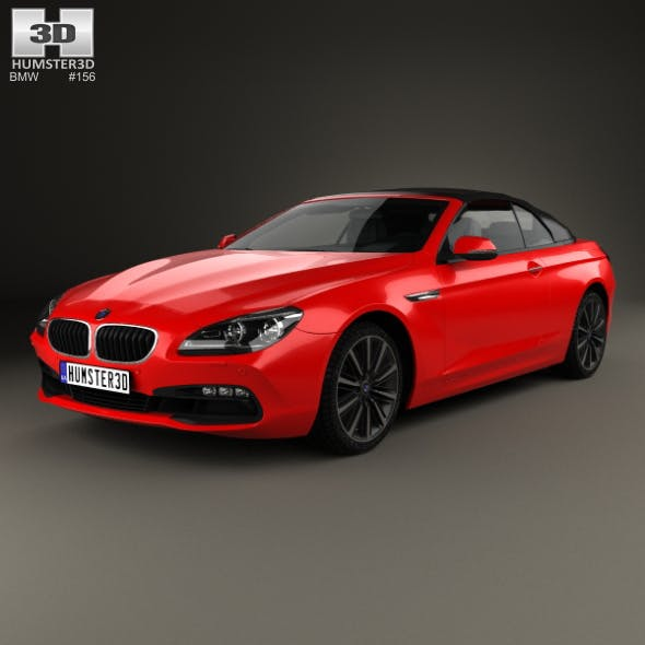 BMW 6 Series (F12) Convertible 2015