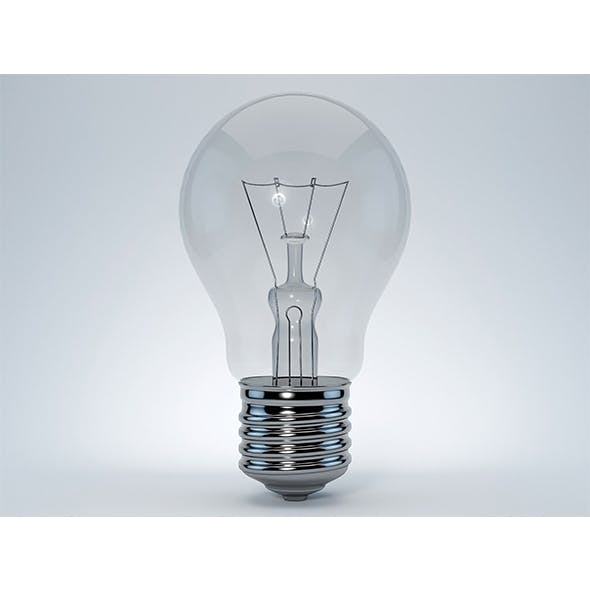 Lamp bulb - 3DOcean Item for Sale