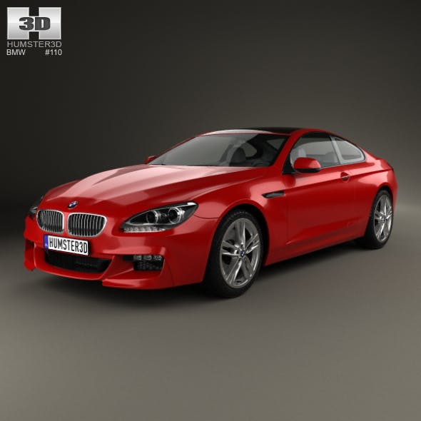 BMW 6 series (F13) Coupe M Sport Package 2015 - 3DOcean Item for Sale