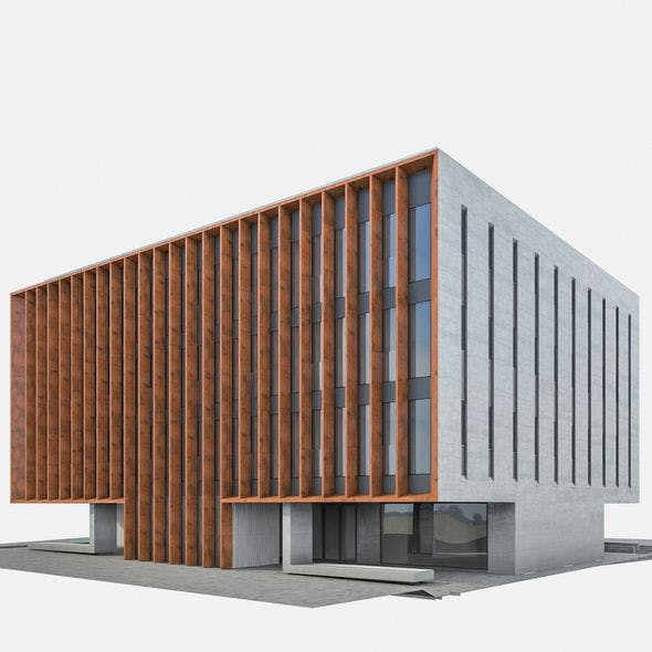 Office Building 05 - 3DOcean Item for Sale