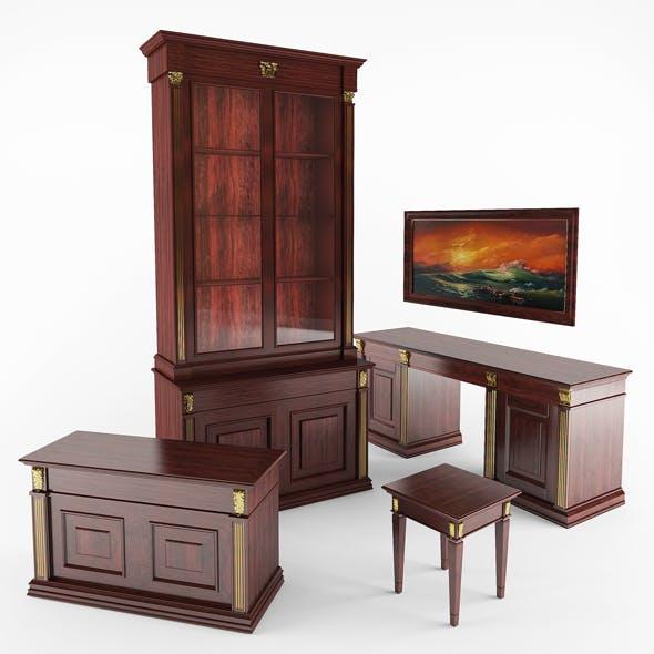 office set - 3DOcean Item for Sale