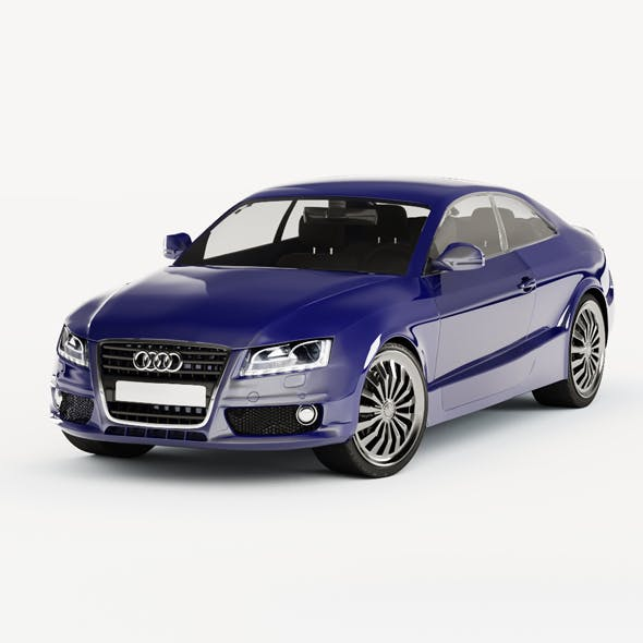 Audi A 5 - 3DOcean Item for Sale
