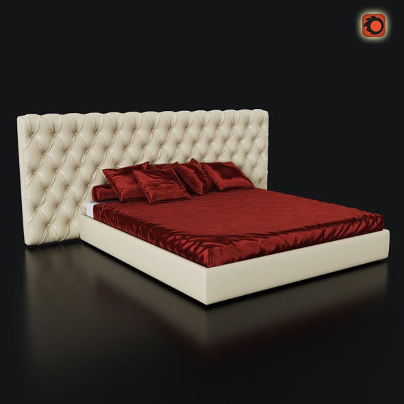 Bed Cinova Gisele - 3DOcean Item for Sale