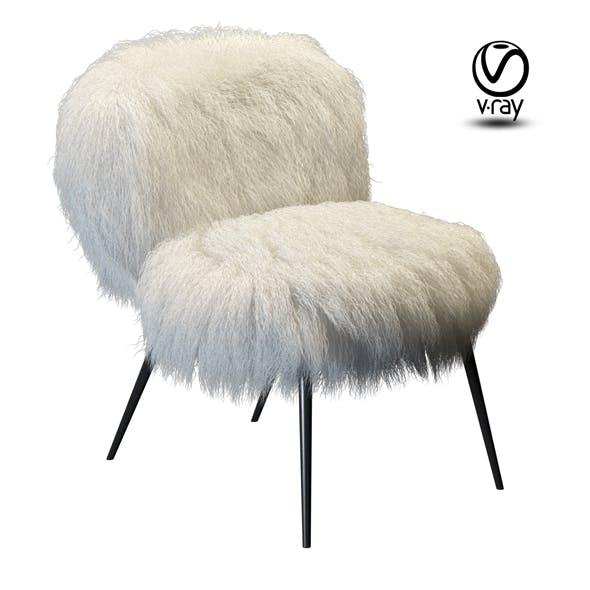 Chair Baxter Nepal fur - 3DOcean Item for Sale