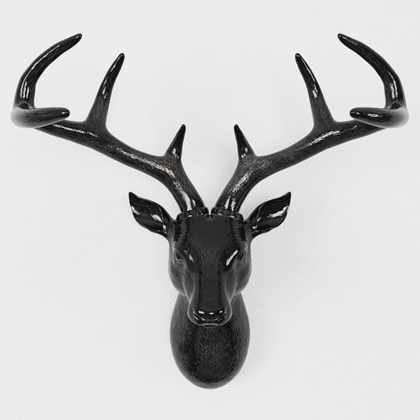 Deer head - 3DOcean Item for Sale