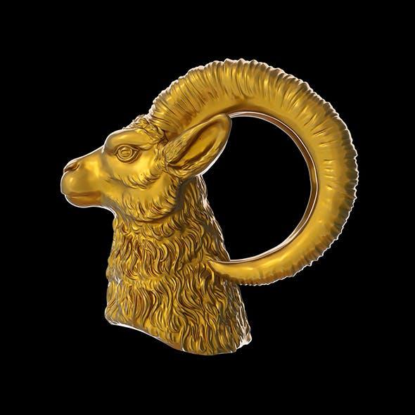 Goat Head Model 3D print model