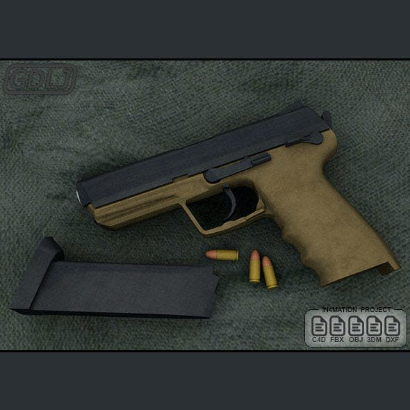 Gun MK23 Socom