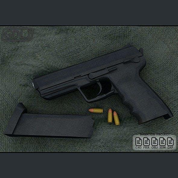 ASG - MK23 Socom Black